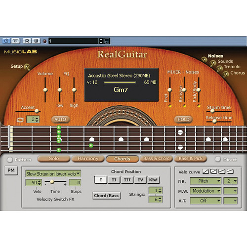 MusicLab RealGuitar Acoustic Guitar Virtual Instrument
