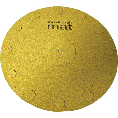 Music Hall Cork Record Mat for Turntables