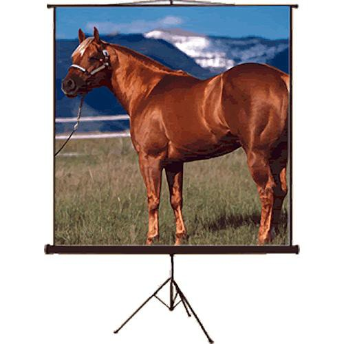 """Mustang SC-T100D43 Tripod Front Projection Screen (60x80"""")"""