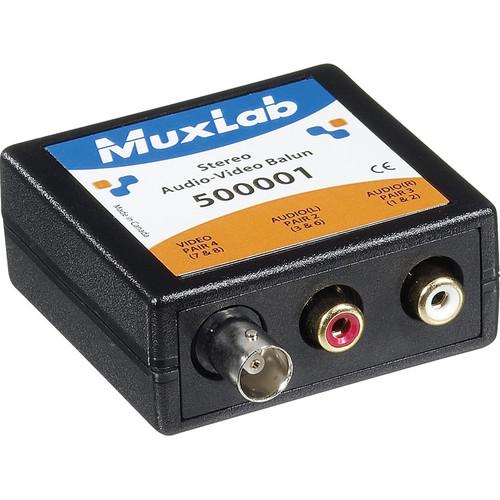 MuxLab Stereo Audio-Video Balun