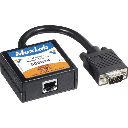 MuxLab 500014 VGA Balun (Monitor Side)