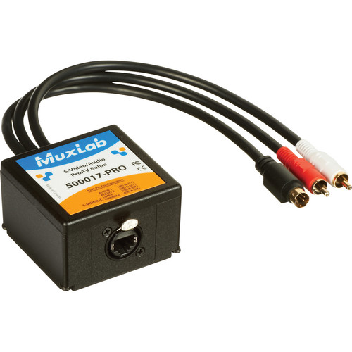 MuxLab S-Video/Audio ProAV Balun Transmitter (CAT 5e/6 UTP)