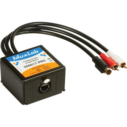 MuxLab S-Video/Audio ProAV Balun Transmitter (CAT 5e/6 UTP)