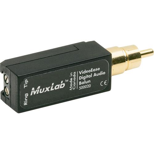 MuxLab Digital Audio Balun
