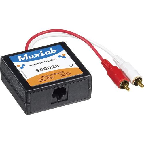 MuxLab Stereo Hi-Fi Balun 500028