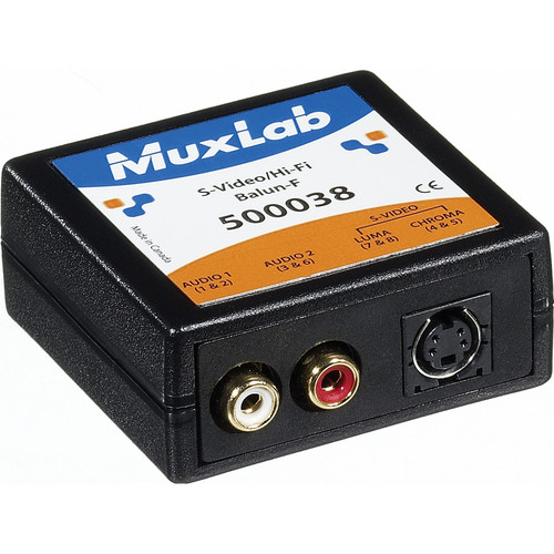 MuxLab S-Video/Hi-Fi Balun