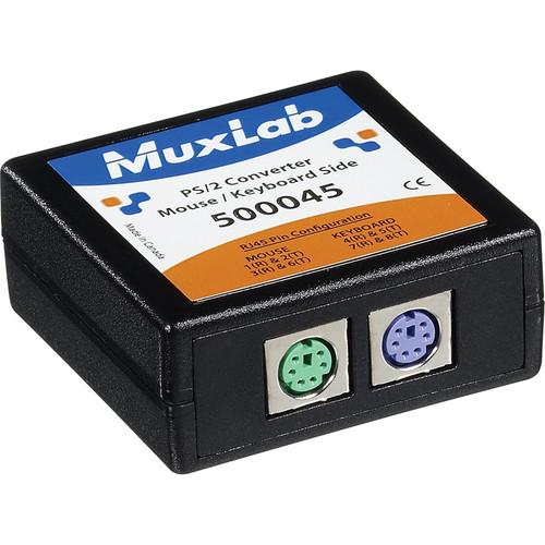 MuxLab PS/2 Receptacle & Keyboard/Mouse Side