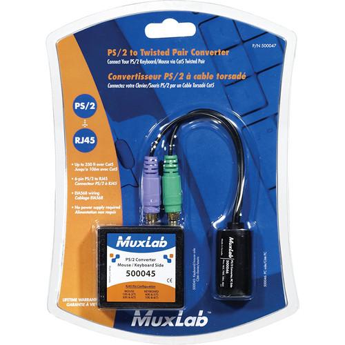 MuxLab PS/2 Keyboard/Mouse Converter Kit