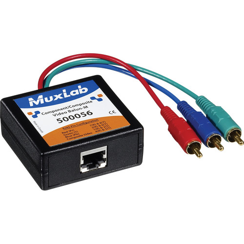 MuxLab 500056 Component-Composite Video Balun (Male)