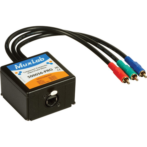 MuxLab Composite/Component ProAV Video Balun Transmitter