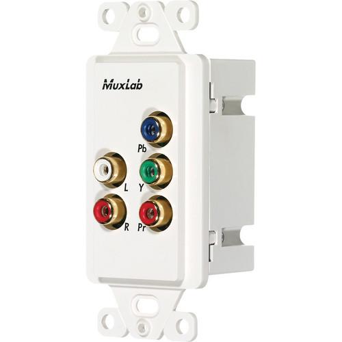 MuxLab Component Video/Stereo Audio Wall Balun (US)