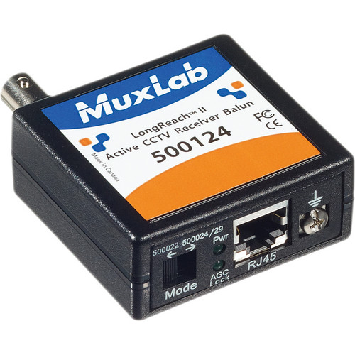 MuxLab LongReach II Active CCTV Receiver Balun