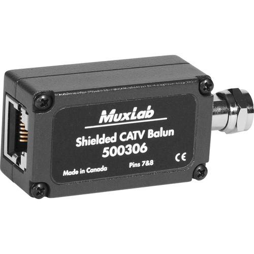 MuxLab Shielded CATV Balun