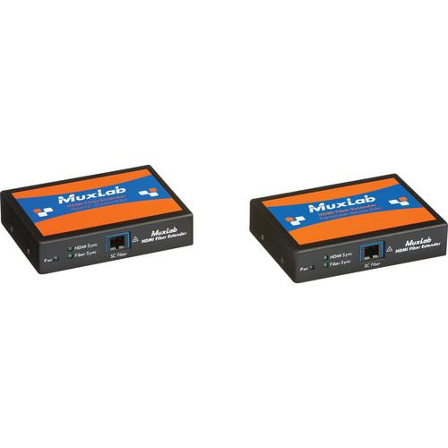 MuxLab HDMI Fiber Extender Kit