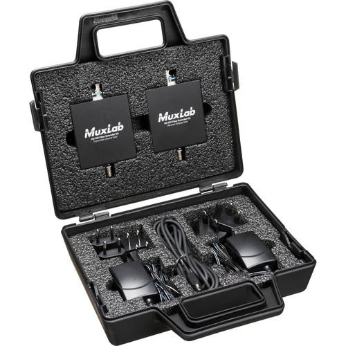 MuxLab 500710 HD-SDI Fiber Extender Kit