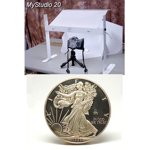 MyStudio MS20 Tabletop Photo Studio Kit with 5000K Lighting