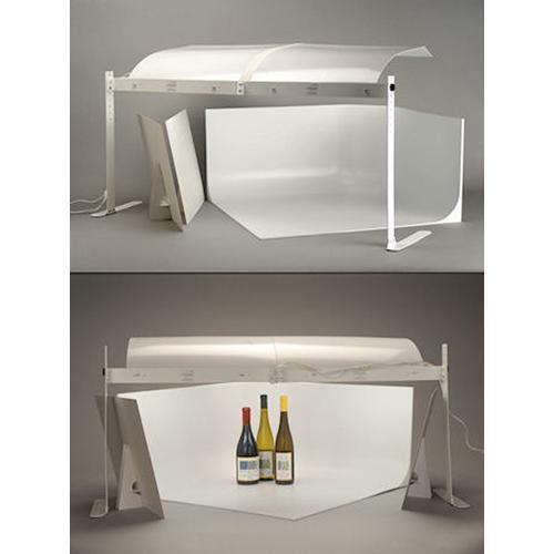 MyStudio MS32 Tabletop Photo Studio Kit with Fluorescent Lighting