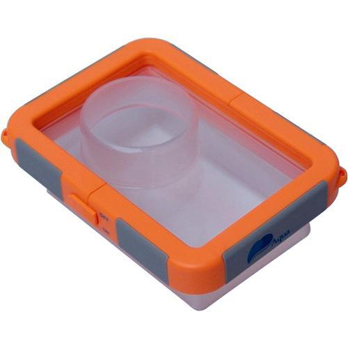 My Aqua Case Waterproof Camera Case, Medium (Orange)