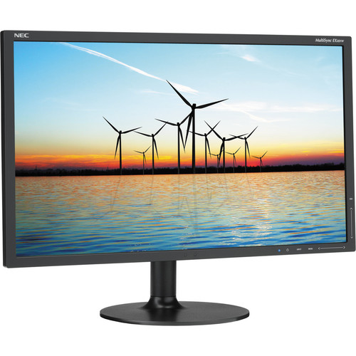 "NEC MultiSync EX201W-BK 20"" Widescreen LED-Backlit Computer Display"