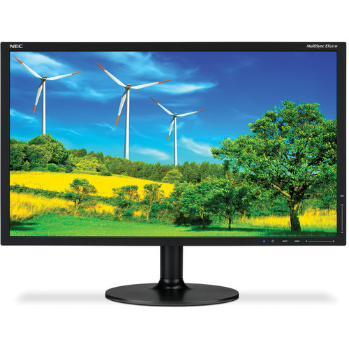 "NEC MultiSync EX231W-BK 23"" Widescreen LCD Computer Display"