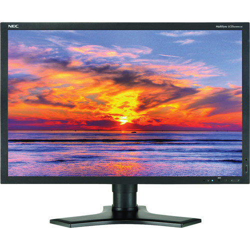"""NEC MultiSync 2690WUXi2 25.5"""" Widescreen LCD Display"""