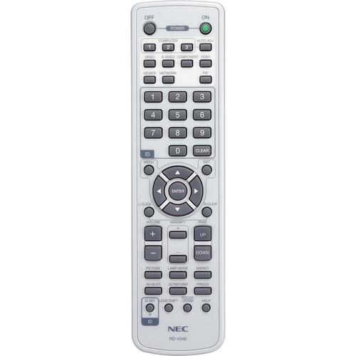 NEC RMT-PJ27 Remote Control