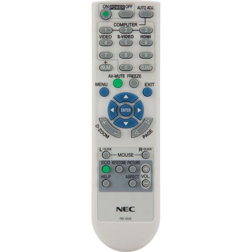 NEC RMT-PJ32 Replacement Remote Control for NP-U300X/U310W Projectors