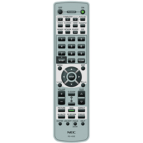 NEC RMT-PJ33 Replacement Remote Control