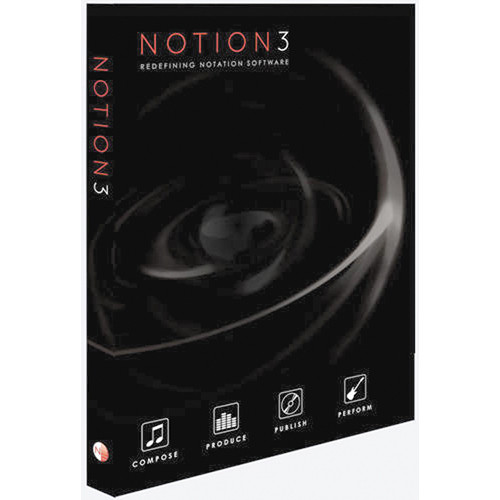 NOTION Music Notion3 - Notation and Performance Software