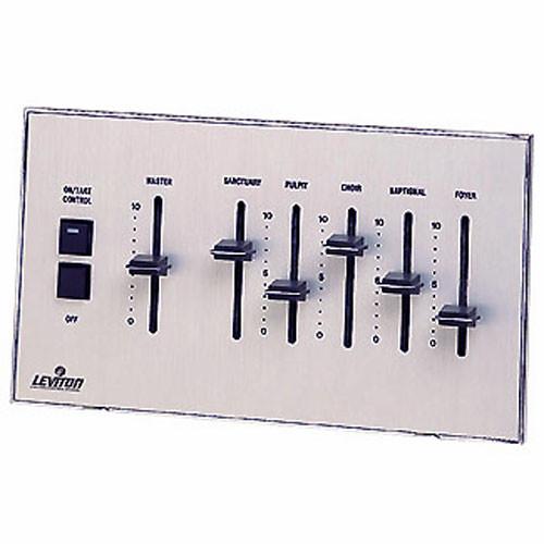 NSI / Leviton Analog Seven Channel Wall-Mountable ON/TAKE Control Switch