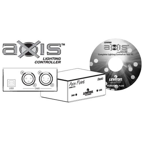 NSI / Leviton Axis Basic Lighting Controller Kit