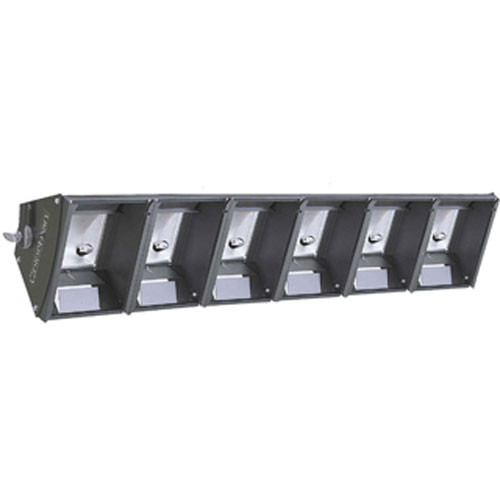NSI / Leviton Cyc Strip - Six Sections, Three Circuits  (120-240VAC)