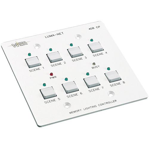 NSI / Leviton Luma-Net 408-CP Remote Memory Control Panel