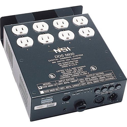 NSI / Leviton Digital Dimmer, Four Channels (120VAC)