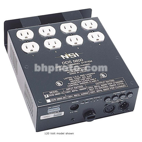 NSI / Leviton Digital Dimmer, Relay Pack - Four Channels (240V)