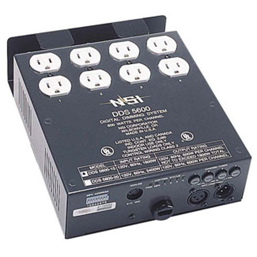 NSI / Leviton Digital Satellite DMX Dimmer Pack - Four Channels, 20 Amps (120VAC)