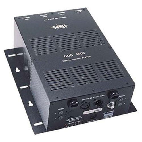 NSI / Leviton N6000-020 4 Channel, 1200 Watt/Channel Satellite Dimmer Pack