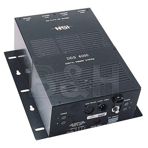 NSI / Leviton N600P-020 4 Channel, 1200 Watt/Channel Dimmer/Relay System