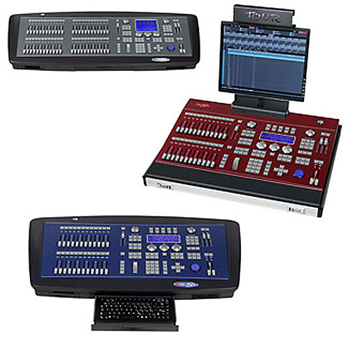 NSI / Leviton 8700 GS Console - 1024 Channels, 24-48 Sub-Masters (85-265VAC)
