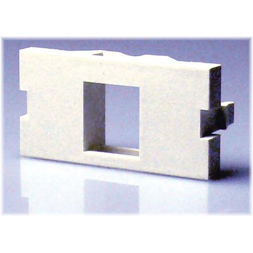 NTW 3UN/B-KY1W 1-Port UniMedia Single Keystone Blank Module (1U)