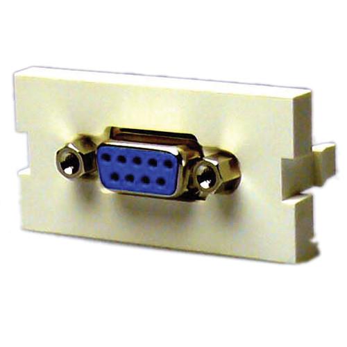 NTW 3UN-FFDV9 DB9 Female to Female Coupler Adapter Module (1U)