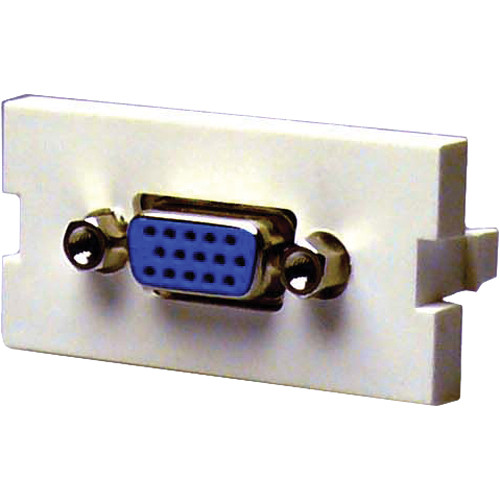 NTW 3UN-FFHD15 SVGA Female to Female Coupler Adapter Module (1U)