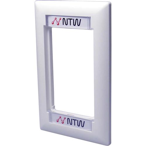 NTW 3UN-FRM1W UniMedia Wall Plate Frame (1 Gang)