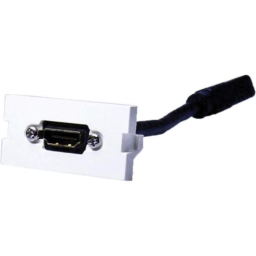 NTW UniMedia Module with HDMI/HDMI FeedThrough Pigtail (1U)