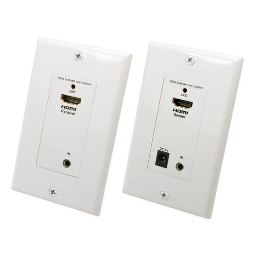 NTW HDMI over CATx Wall Plate v50