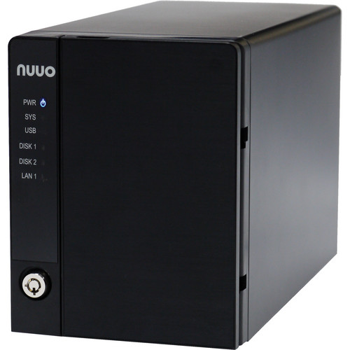 NUUO NVRmini2 NE-2020 NVR and Server (2-Channel, 2 Drive Bays, 2TB)