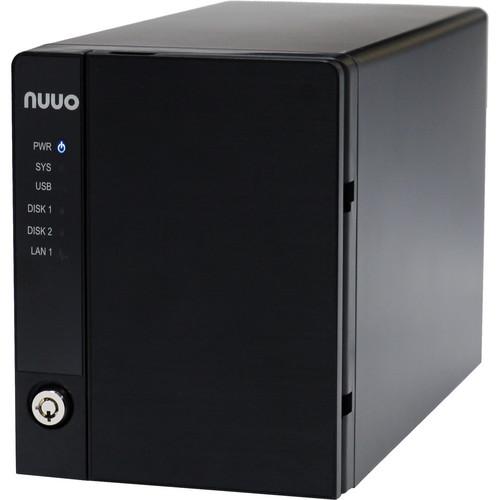 NUUO NVRmini2 NE-2020 NVR and Server (2-Channel, 2 Drive Bays, 2TB)