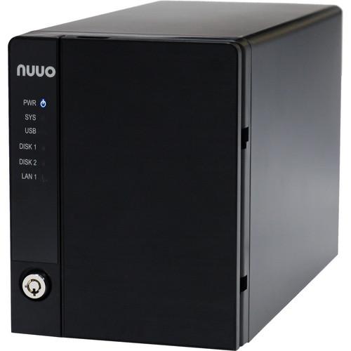 NUUO NVRmini2 NE-2040 NVR and Server (4-Channel, 2 Drive Bays, 1TB)