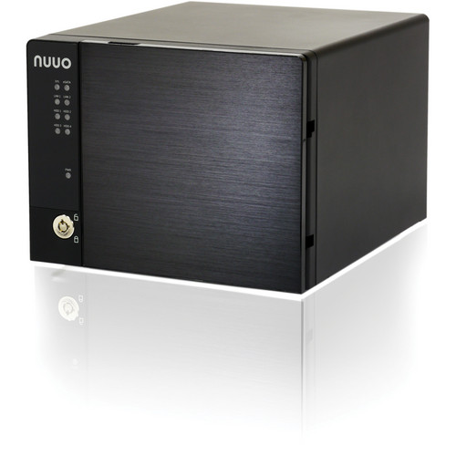 NUUO NVRmini2 NE-4080 NVR and Server (8-Channel, 4 Drive Bays, 6 TB)