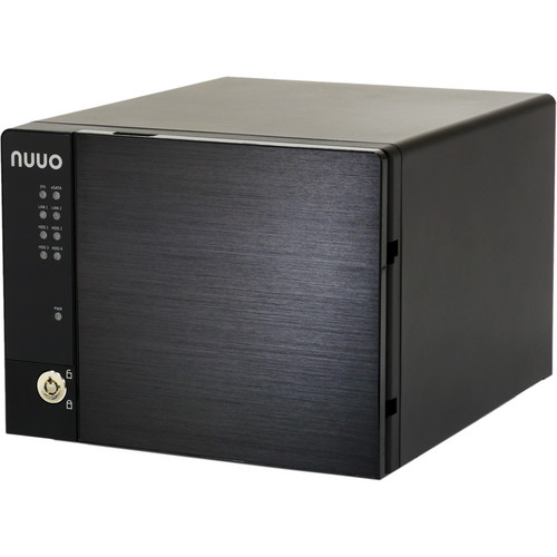 NUUO NVRmini2 NE-4160 NVR and Server (16-Channel, 4 Drive Bays, 8TB)